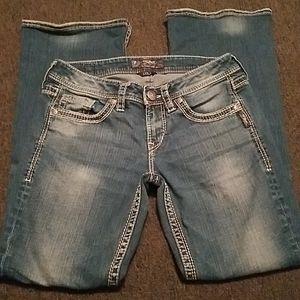 Silver jeans 28x31